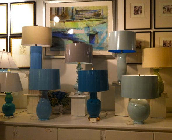 Lacquered Lamp Shades