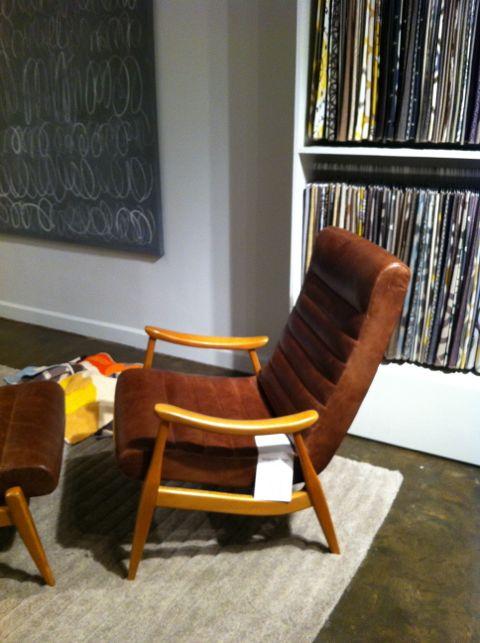 Dwell Studio Leather Chair