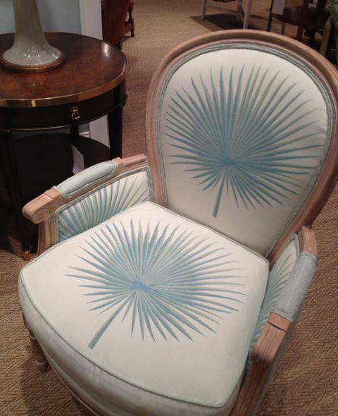 Pearson Company Palm Chair