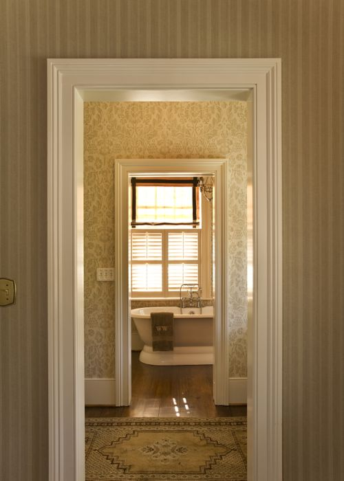 View from Master to Master Bath