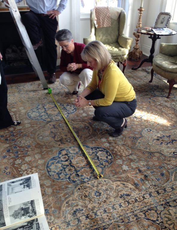 Measuring the Rug