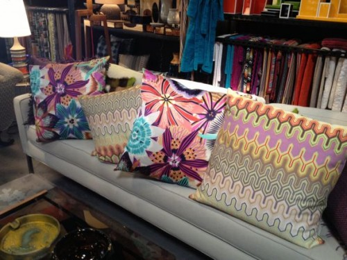 pillows by missoni