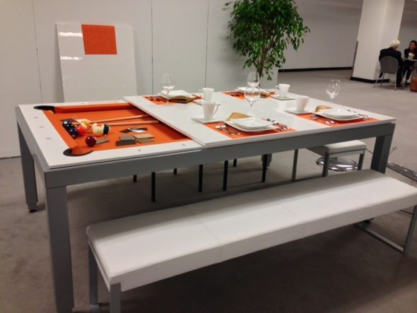 Pool Table Dining Table- MDI