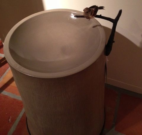 Designer Bird Bath by Baker Furniture-MDI