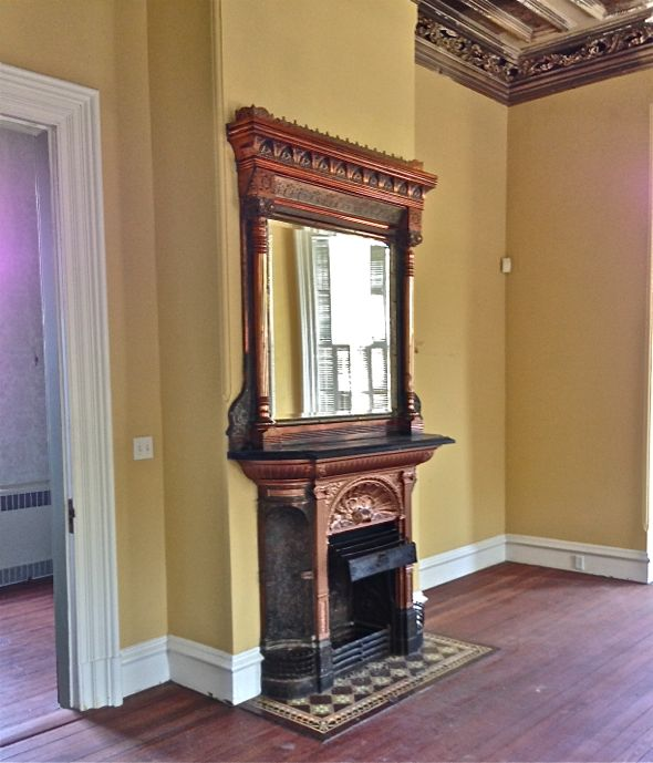 Historical Renovation Fireplace- Charleston, SC