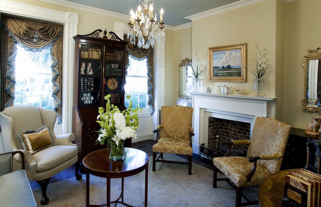 Superior Traditional Charleston Interior Design 5